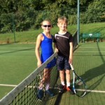 U9 Ellie Blackford v Ben Porter