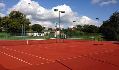 New clay courts at Danbury Tennis Club