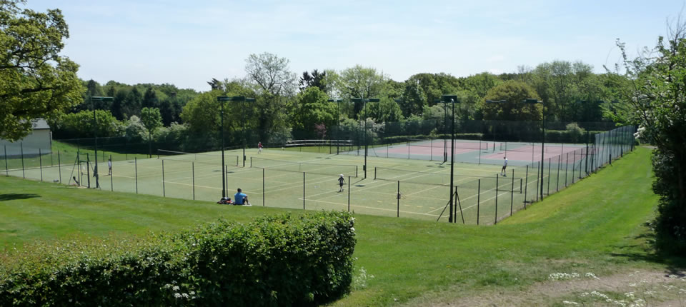Danbury Tennis Courts