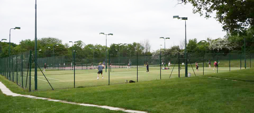 Courts at Danbury Tennis Club