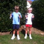 Ellie and Sam were crowned county champions in the 2013 event at Thorpe Bay