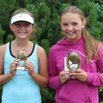 Abbie Mortimer-Ford winner of U12  C & D consolation final